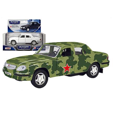 Модель ГАЗ 31105 Армейская 33903 1:43 купить оптом и в розницу