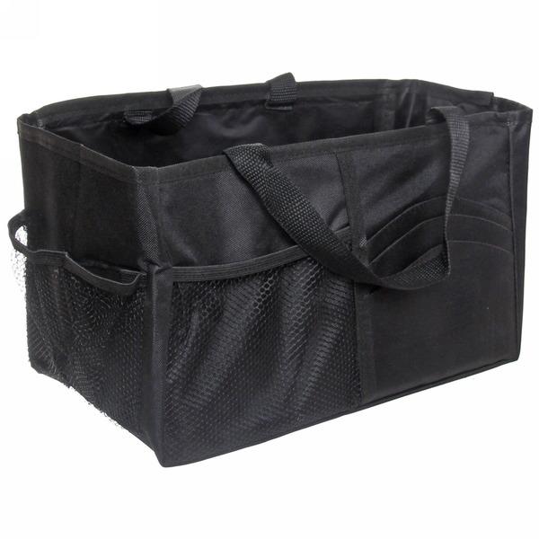 Органайзер-сумка в багажник 55*15*23см, цвет черный купить оптом и в розницу