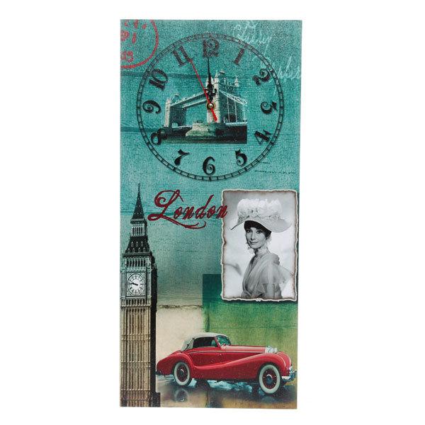 Часы настенные 54х25см 501-33 купить оптом и в розницу