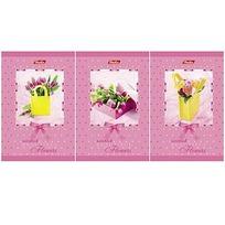 Записная книжка 80 л. А7 Прекрасные цветы 025782 Hatber купить оптом и в розницу