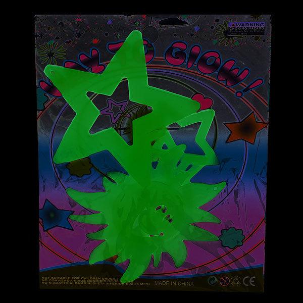 Наклейка светящаяся интерьерная ″Солнышко″ 4шт купить оптом и в розницу
