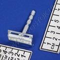 Станок для бритья ″Классика″ в коробочке цвет металл h-6см 311-2 купить оптом и в розницу