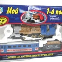 Ж/д 0611 Мой первый поезд на бат. Joy Toy купить оптом и в розницу