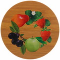 Подставка декоративная ″Фрукты-цветы″ 17 см бамбук купить оптом и в розницу