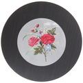 Подставка декоративная 16,5 см ″Фрукты-цветы″ голограмма темная купить оптом и в розницу