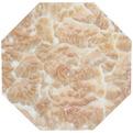 Подставка декоративная 16,5*16,5 см ″Мрамор″ многогранник купить оптом и в розницу