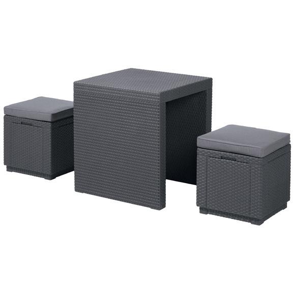 Набор мебели ARIZONA SET 2 стула,стол коричневый купить оптом и в розницу