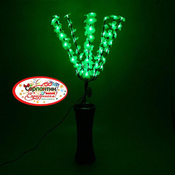 Световое дерево LED 70 см, ″Орхидея″ RG(красный, зеленый) купить оптом и в розницу
