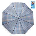 Зонт мужской механический ″Классика″ клетка, 8 спиц, d-98см купить оптом и в розницу