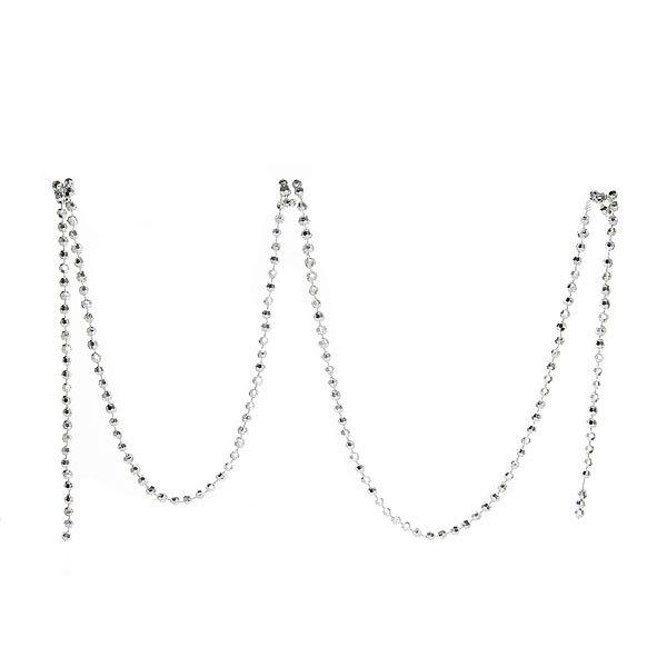 Ёлочная игрушка набор (74шт) серебро D06-291/S купить оптом и в розницу