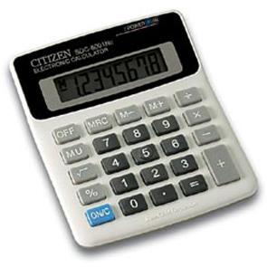 Калькулятор CITIZEN настольный 8раз 128*107*33мм купить оптом и в розницу