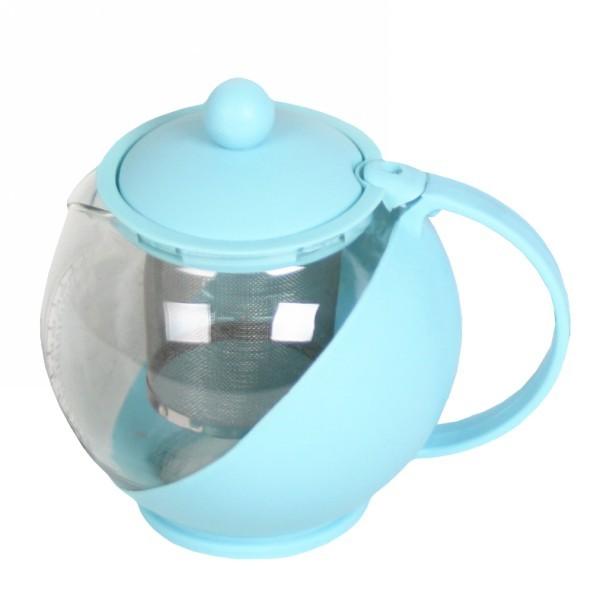 Чайник заварочный стеклянный 750 мл 125А купить оптом и в розницу