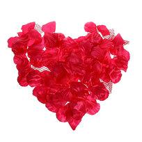 Лепестки роз белоснежные 150 шт в упаковке 4*4,5 купить оптом и в розницу