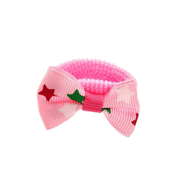 Резинки для волос на блистере 6шт ″Звездочки″, цвет микс купить оптом и в розницу