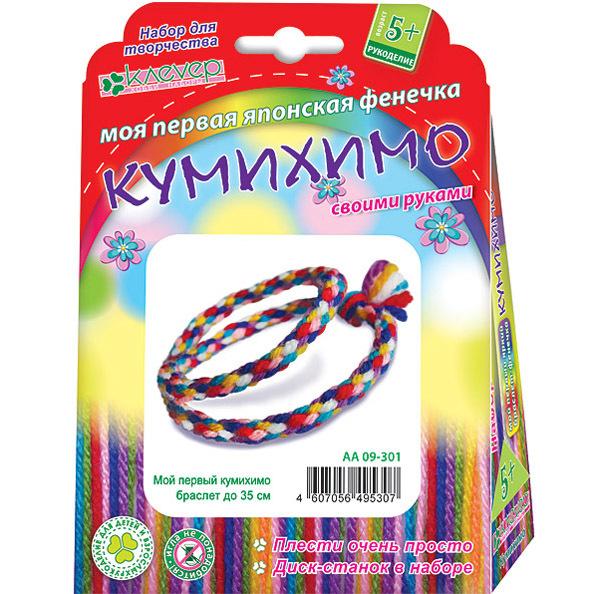 Набор ДТ Плетение Кумихимо Мой первый кумихимо 09-301АА купить оптом и в розницу