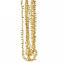 Бусы на ёлку золото 2,5м ″Кристаллики″ купить оптом и в розницу