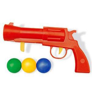 Пистолет пласт. с шариками 01334 /33/ купить оптом и в розницу
