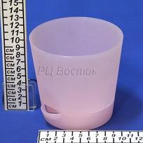 Горшок для цветов с поддоном ″Le Parterre″ 0,7л. d11,5 202-11 розовый (Р) купить оптом и в розницу