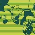 ПЦ-2602-1746 полотенце 50х90 махр п/т Mickey and Football цв.10000 купить оптом и в розницу