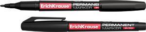 Маркер перм.Erich Krause P-70 круг/жало 1 мм черный купить оптом и в розницу