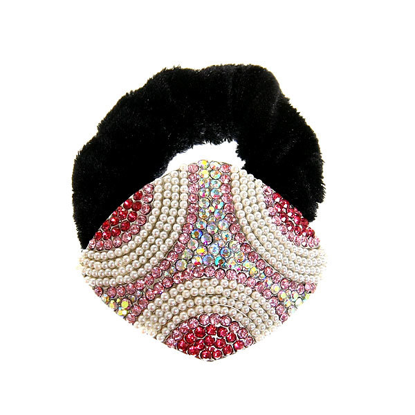 Резинка для волос 1шт ″Фернанда-ромб″, цвет микс купить оптом и в розницу