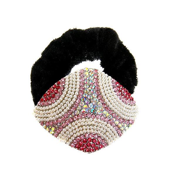 Резинка для волос 1шт ″Фернанда-волна″, цвет микс купить оптом и в розницу