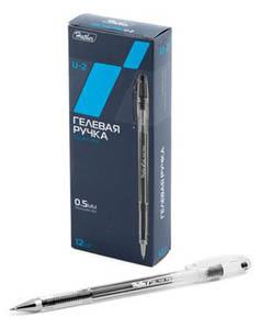 Ручка гел.Hatber U-2 0,5мм, черная купить оптом и в розницу