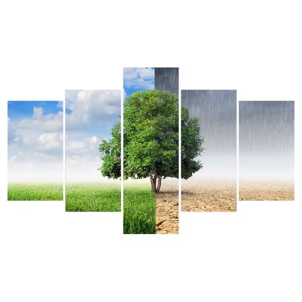 Картина модульная полиптих 75*130 Природа диз.22 67-02 купить оптом и в розницу