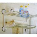 Вешалка для полотенец SQ-1805 на присосках купить оптом и в розницу