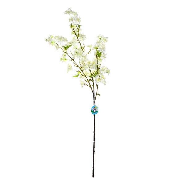 Цветок искусственный 100см ветка Яблоневый цвет купить оптом и в розницу