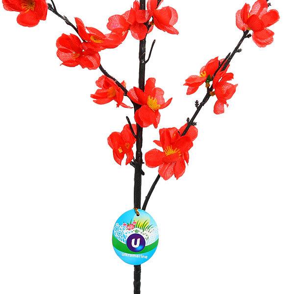 Цветок искусственный 125см ветка Сакура купить оптом и в розницу