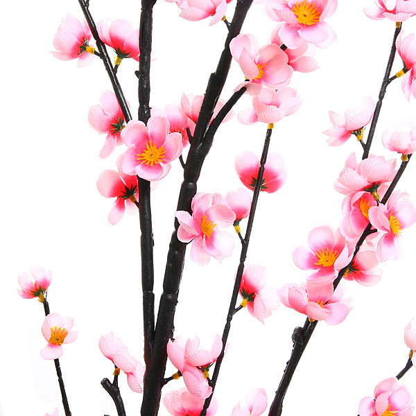 Цветок искусственный 150см ветка Сакура нежная купить оптом и в розницу