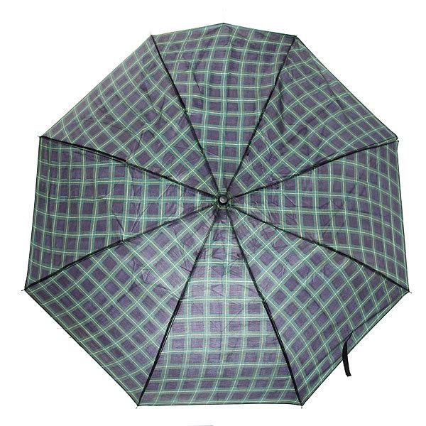 Зонт мужской полуавтомат ″Классика″ клетка, 8 спиц, d-95см, длина в слож. виде 23см купить оптом и в розницу