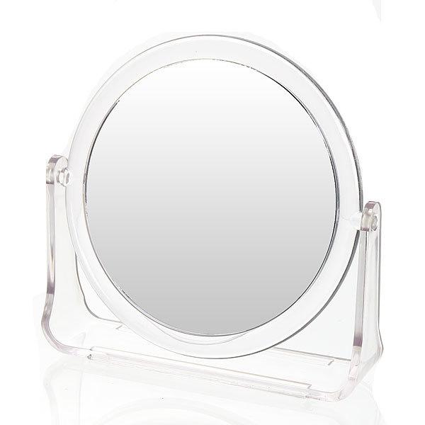 Зеркало настольное на подставке ″Модерн - Круг″ прозрачное, двухстороннее 14,5см купить оптом и в розницу