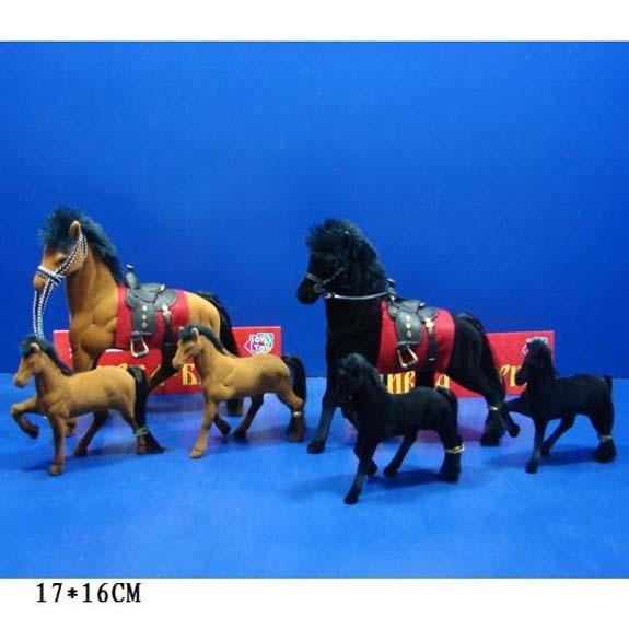 Лошадь 2548 Сивка-Бурка зшт. в пак. купить оптом и в розницу