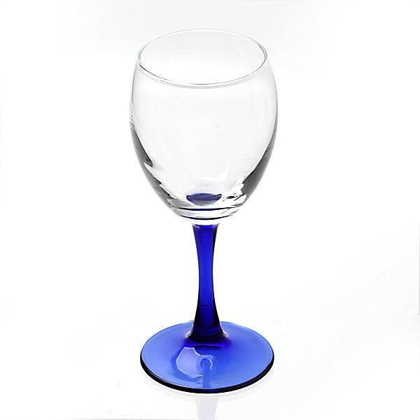 Набор фужеров для красного вина 4шт 240мл ″Империал Блю″ купить оптом и в розницу