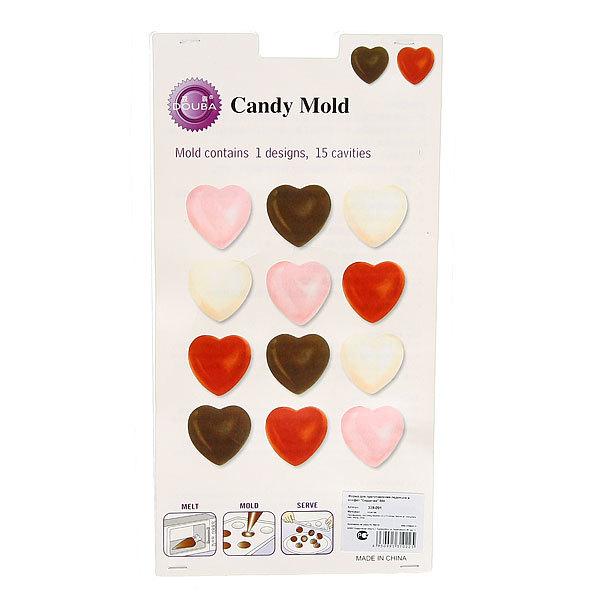 Форма для приготовления леденцов и конфет ″Сердечки″ 804 купить оптом и в розницу