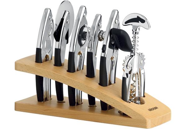 Набор инструментов, хром, 7 пр., NADOBA, серия SIRENA *6 купить оптом и в розницу