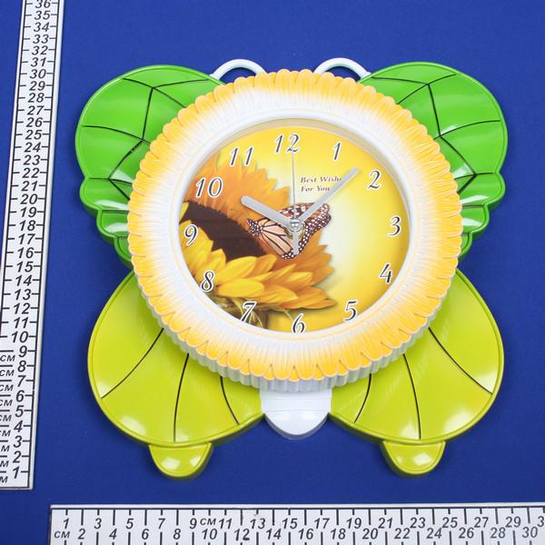 Часы настенные ″Бабочка″ 7302В купить оптом и в розницу