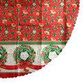 Скатерть круглая 150см ″Рождественские Мотивы″ купить оптом и в розницу