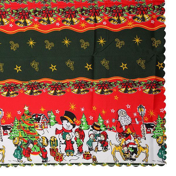 Скатерть 120*150см ″Новогодний калейдоскоп″ купить оптом и в розницу