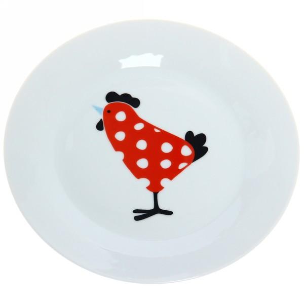 Тарелка фарфоровая 20см ″My Chicken″ купить оптом и в розницу