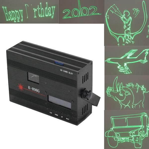 Световой прибор Лазер К898G SD card, аниме, 1 цвет купить оптом и в розницу