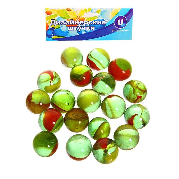 Стеклянные камушки для дизайна ″Цветная фантазия″ 100гр d16 купить оптом и в розницу