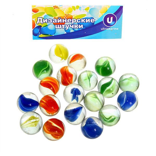 Украшение декоративное стеклянные шарики для дизайна ″Кристальная фантазия″ 100гр d16 купить оптом и в розницу