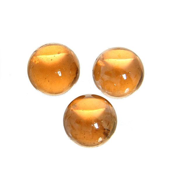 Стеклянные камушки для дизайна ″Медовая фантазия″ 100гр d16 купить оптом и в розницу