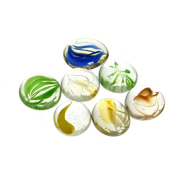 Украшение декоративное стеклянные шарики для дизайна ″Кристальный цветок″ 100гр 17-19 купить оптом и в розницу