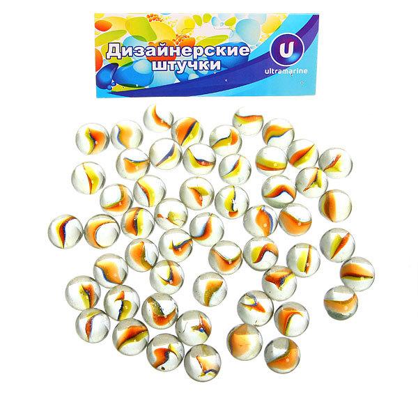 Стеклянные камушки для дизайна ″Кристальный цветок″ 100гр d11 купить оптом и в розницу