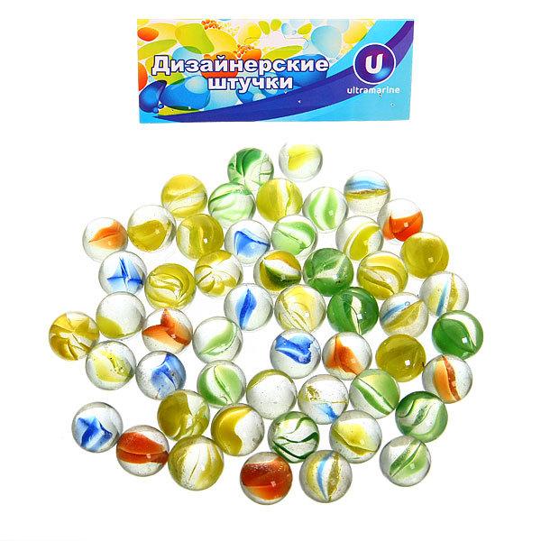 Украшение декоративное стеклянные шарики для дизайна ″Радуга″ 100гр d11 купить оптом и в розницу