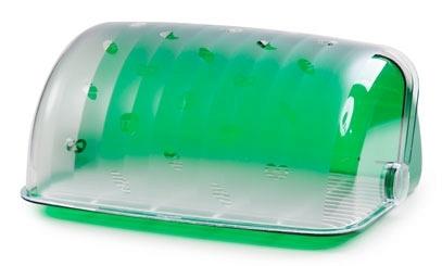 Хлебница Санти (зеленый полупрозрачный)*4 купить оптом и в розницу